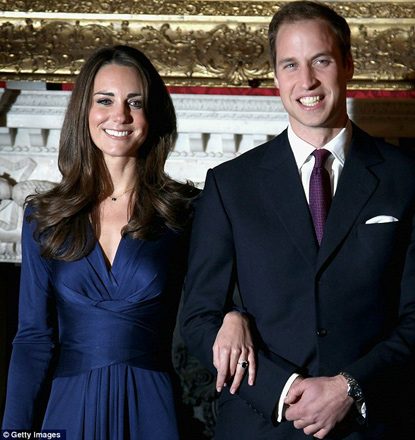 William and Kate's wedding day plans revealed