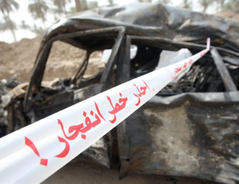 One killed in Iraq car bombing