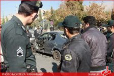 Two university professors' cars blown up in Tehran (UPDATE 2) (PHOTO) - Gallery Thumbnail