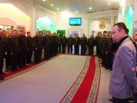 Azerbaijani national leader Heydar Aliyev's memory was honored at Penal Service of Azerbaijan (PHOTO) - Gallery Thumbnail