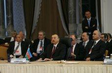 Azərbaycan Prezidenti İqtisadi Əməkdaşlıq Təşkilatının XI Sammitində iştirak edir (FOTO) - Gallery Thumbnail