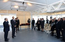President Ilham Aliyev inaugurates building for Karabakh war disabled and shahid families (UPDATE) (PHOTO) - Gallery Thumbnail