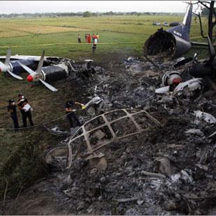 Двое пострадавших при аварии Ан-24 в Томской области остаются в реанимации