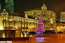 Новогоднее убранство вечернего Баку (фотосессия) - Gallery Thumbnail