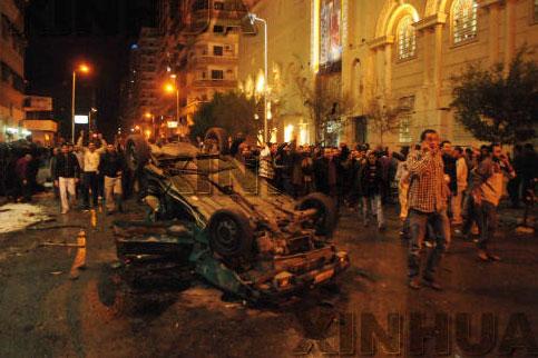 Мубарак призвал мусульман и христиан Египта объединиться в борьбе с терроризмом (версия 2)