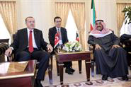 Turkish prime minister in Kuwait for security, business talks