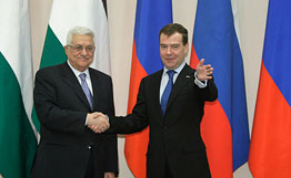 Russia backs independent Palestine