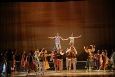 """Ballet """"Love and Death"""" by famous Azerbaijani composer has success in Ankara (PHOTO) - Gallery Thumbnail"""