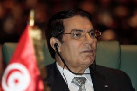 Fleeing Tunisia President accepted as refugee in KSA