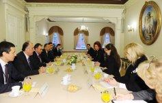 Azerbaijan`s President meets Latvia`s Saeima Speaker (PHOTO) - Gallery Thumbnail