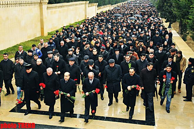 Azərbaycanda 20 Yanvar faciəsinin ildönümüdür (FOTO)
