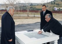 Azerbaijani President inspects ongoing reconstruction works in framework of program of Baku Boulevard's expansion (PHOTO) - Gallery Thumbnail
