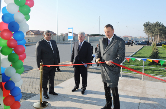 Azerbaijani President inaugurates pedestrian overpass, pedestrian underpass, road junctions and Central Dispatcher Service of Bakuelektrikshebeke (UPDATE) (PHOTOS) - Gallery Image