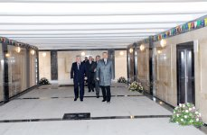 Azerbaijani President inaugurates pedestrian overpass, pedestrian underpass, road junctions and Central Dispatcher Service of Bakuelektrikshebeke (UPDATE) (PHOTOS) - Gallery Thumbnail