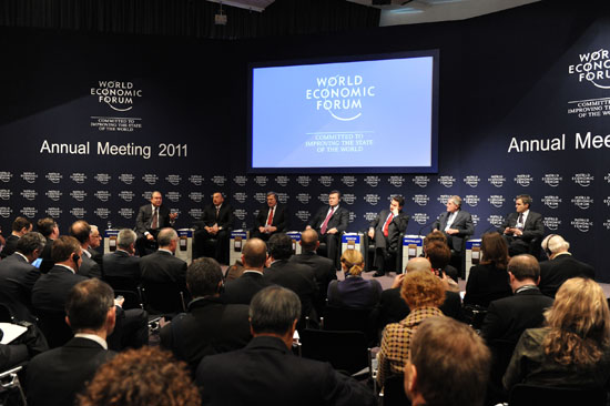 Azerbaijani President attends WEF's session on Europe's energy future (PHOTO) - Gallery Image