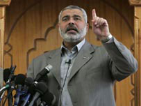 Haniyeh says committed to safety of Gaza Christians