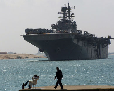 U.S. military assets in the Persian Gulf region will continue as it has for decades - Navy official