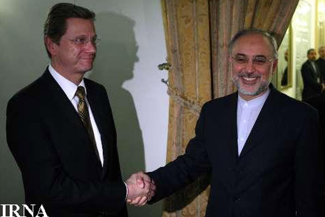 Iran, German foreign ministers discuss nuclear issue