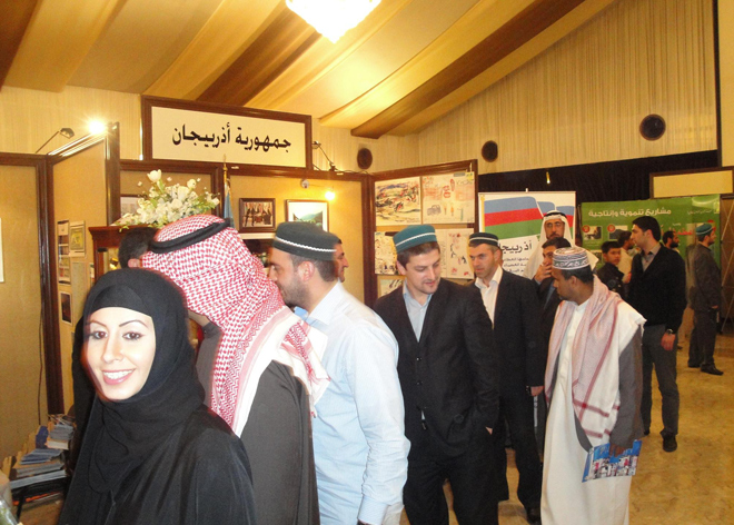 Stand on Khojaly genocide presented at int'l exhibition in Kuwait (PHOTO)