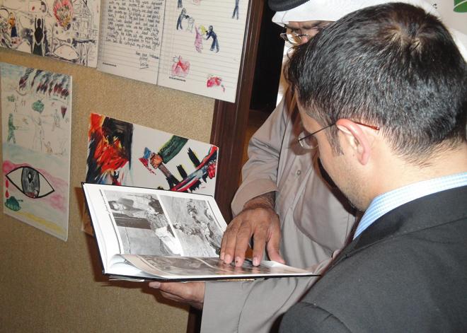 На международной выставке в Кувейте  представлен стенд, посвященный Ходжалинскому геноциду (ФОТО) - Gallery Image