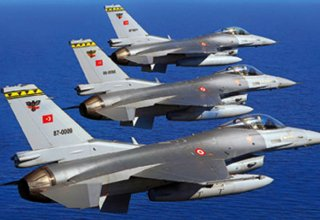 Turkish fighter jets fly towards northern part of Iraq