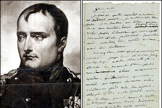 Napoleon's letter to Josephine to go under hammer in Moscow