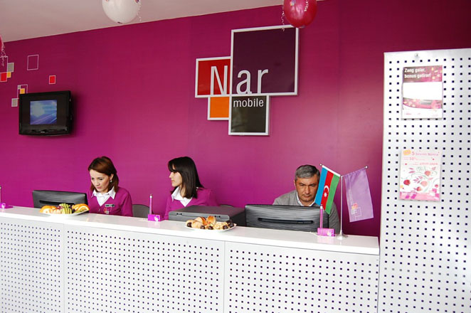"Nar Mobile opens ""Nar Dunyasi"" sales and service center in Tovuz (PHOTOS) - Gallery Image"