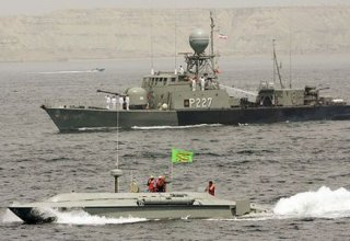 Iran establishes security belt on its territory of Caspian Sea - commander