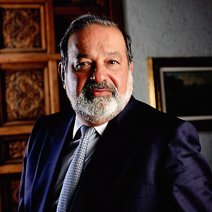 Mexico's Carlos Slim richest in world; Asia on rise