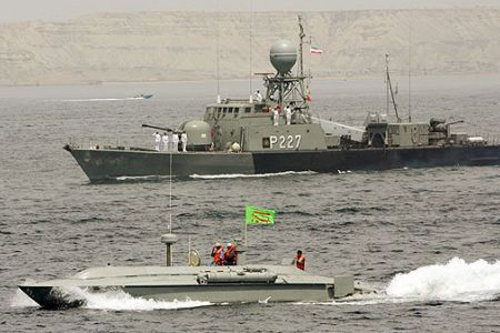 Iran tests Ajdar underwater missile during wargames