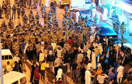 Clashes in Saudi Shiite town leaves 14 people injured