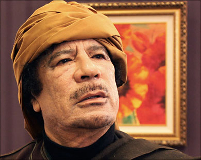 Gaddafi rejects international recognition of rebels