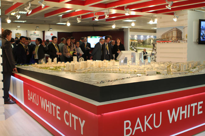 Baku White City Project was first presented in Cannes at International Real Estate Exhibition MIPIM-2011 (PHOTO) - Gallery Image