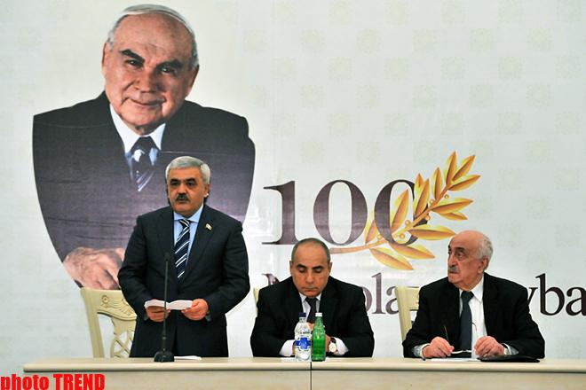 Bakıda Nikolay Baybakovun xatirəsinə həsr olunmuş konfrans keçirilib (FOTO)