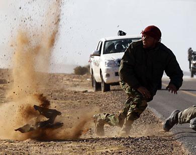 В Триполи идут бои с участием танков, есть погибшие