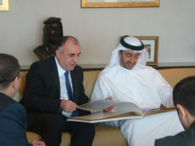 FM: UAE appreciates Azerbaijan's position on peaceful settlement of Nagorno-Karabakh conflict (UPDATE) (PHOTO) - Gallery Image