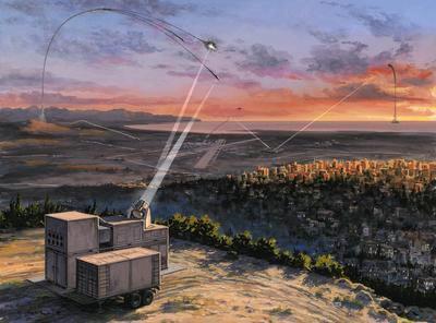 Сирены воздушной тревоги прозвучали на юге Израиля