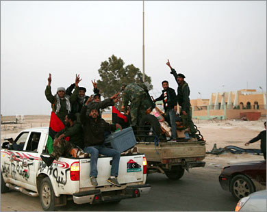 Hundreds evacuated from besieged Libyan city
