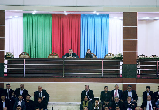 President Ilham Aliyev and his spouse Mehriban Aliyeva watch Challenge Cup final in Baku (PHOTO) - Gallery Image