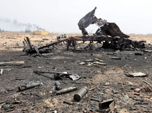 Libya's military aircraft crashes in country's Northeast