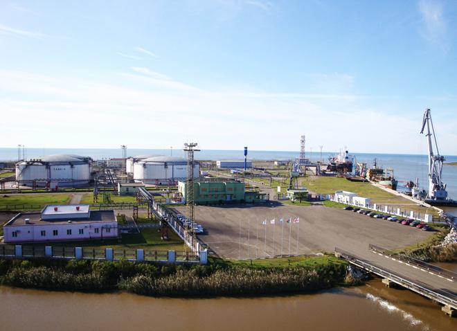 Кулевский нефтяной терминал принимает участие в развитии инфраструктуры в Грузии
