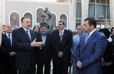 Azerbaijani President meets local residents in Massalli (PHOTO) - Gallery Thumbnail