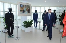 Azerbaijani President familiarizes with State Flag Square and opens Youth House in Astara (PHOTO) - Gallery Thumbnail