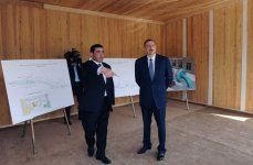 "Azerbaijani President attends groundbreaking ceremony for ""Astara-1"" small hydroelectric station (PHOTO) - Gallery Thumbnail"