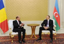 Azerbaijani and Romanian Presidents hold private meeting (PHOTO) - Gallery Thumbnail