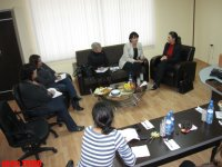 Spouse of U.S. Ambassador to Azerbaijan meets journalists (PHOTO) - Gallery Thumbnail