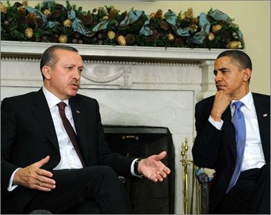 Erdogan, Obama discuss latest developments in Middle East
