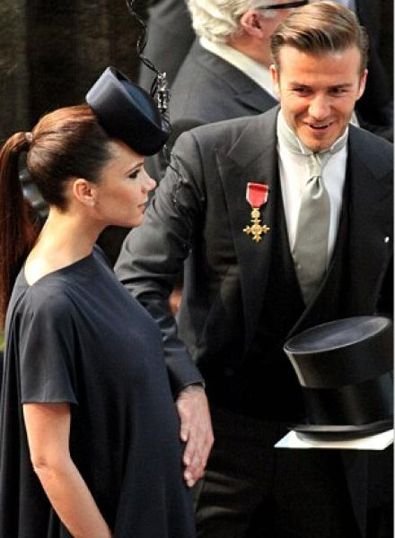 Дэвид Бекхэм опозорился на свадьбе принца Уильяма