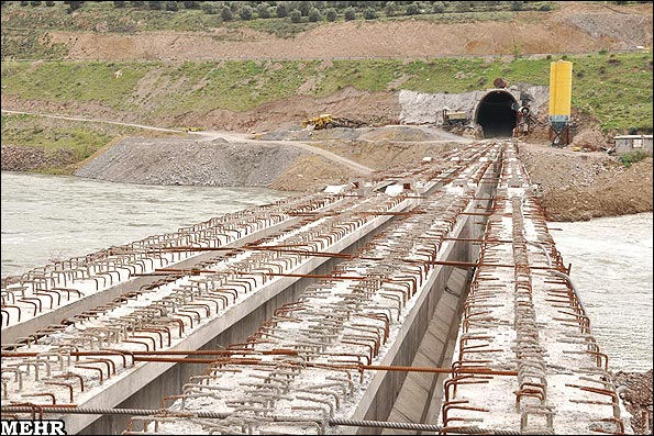 Construction of Qazvin-Rasht-Astara railway continues in Iran (PHOTO) - Gallery Image