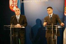 Министры иностранных дел Азербайджана и Сербии обсудили перспективы двустороннего сотрудничества (версия 2) - Gallery Thumbnail